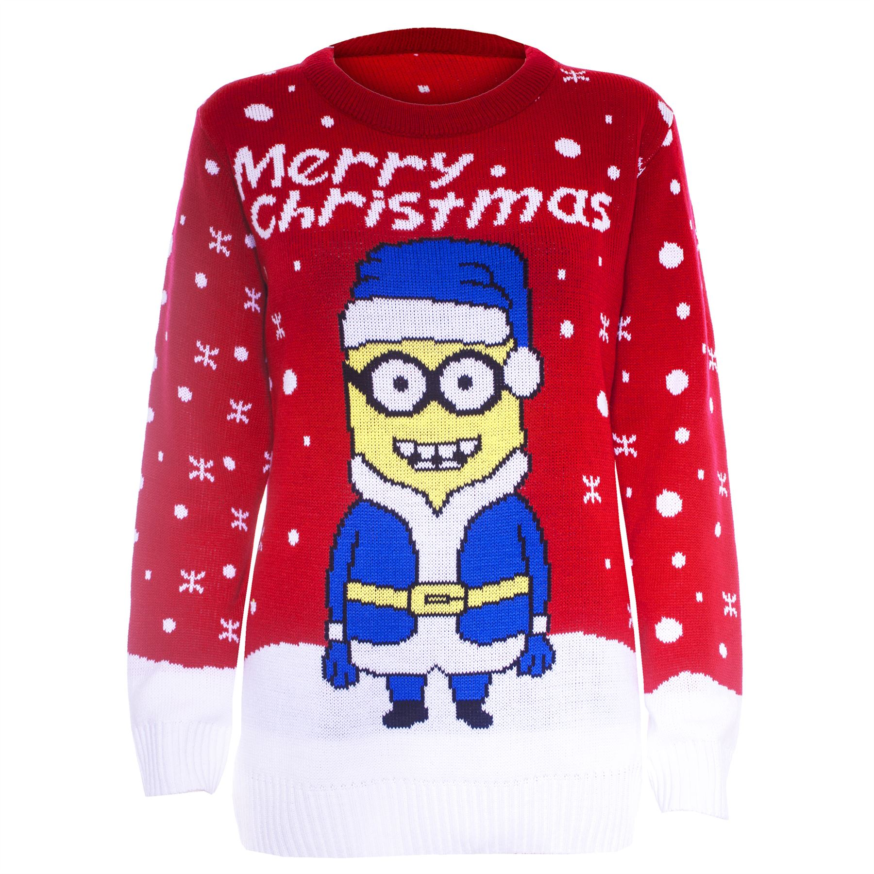 Womens Novelty Rudolf Olaf Ladies Frozen Knit Christmas Sweater ...