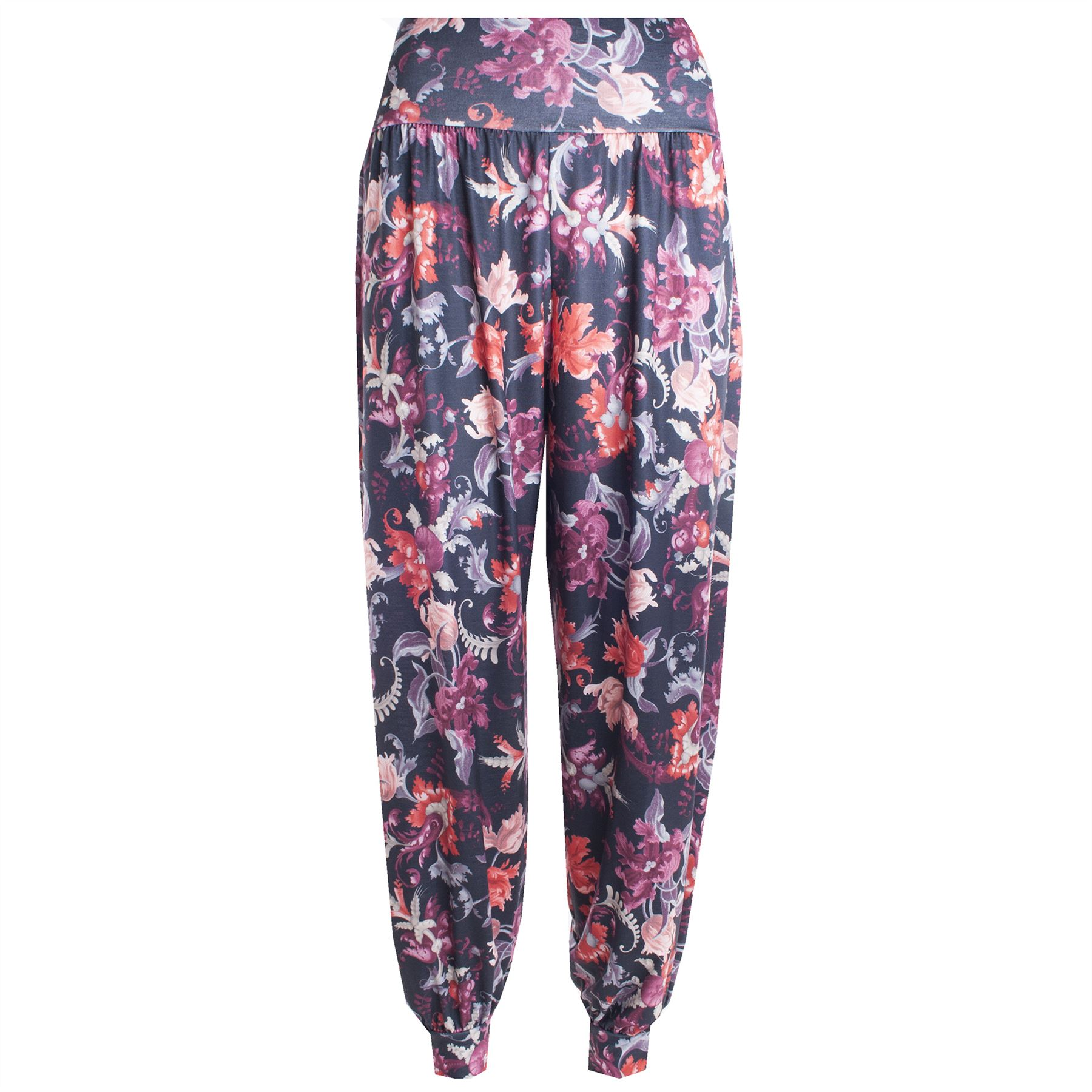 Popular Womens Ladies Tropical Printed Ali Baba Bottoms Harem Pants Trousers Leggings