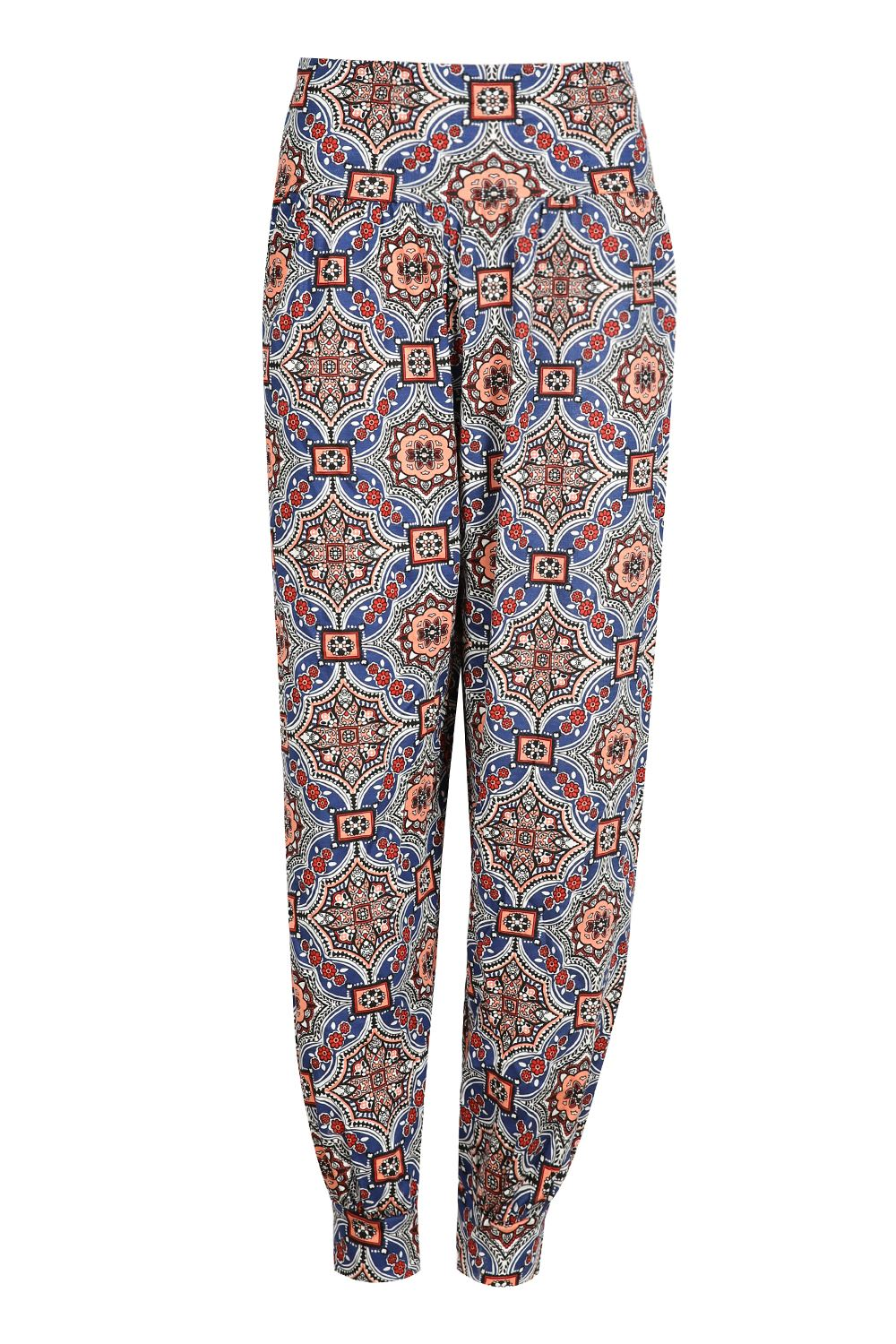 Perfect New Womens Ali Baba Trousers Ladies Harem Pants Floral Printed Bottoms Leggin