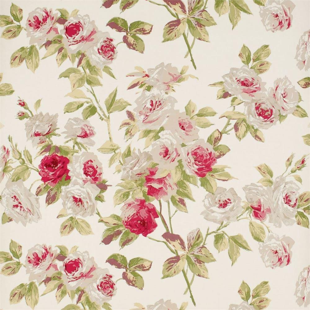 papierpeint9 papier peint fleuri anglais