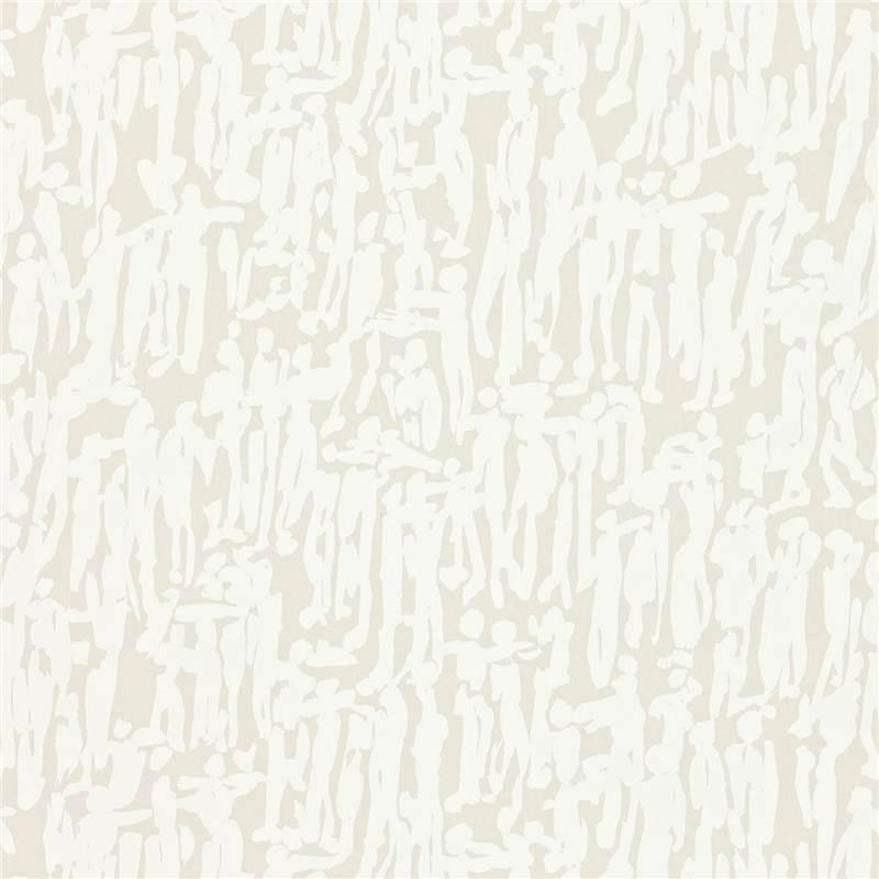 Papier peint harlequin momentum 2 39 people 39 argent perle for Papier peint blanc argent