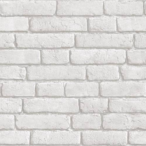 papier peint muriva effet brique gris clair blanc j30309 ebay. Black Bedroom Furniture Sets. Home Design Ideas