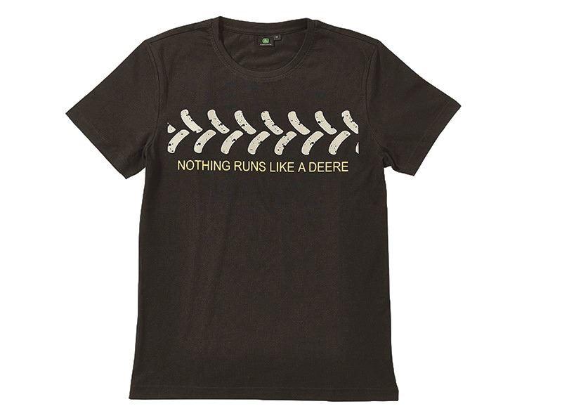 John Deere T Shirt Trace Black Ebay