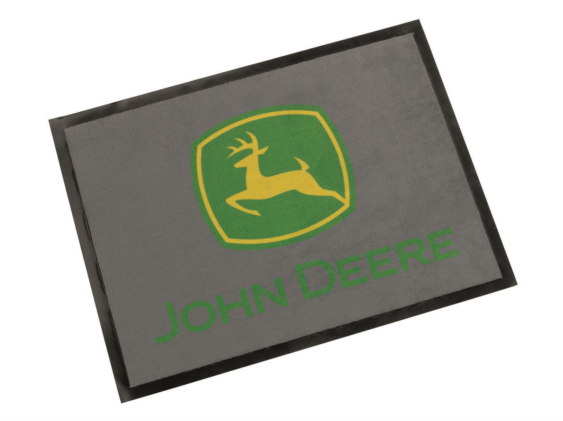 details about john deere floor mat grey