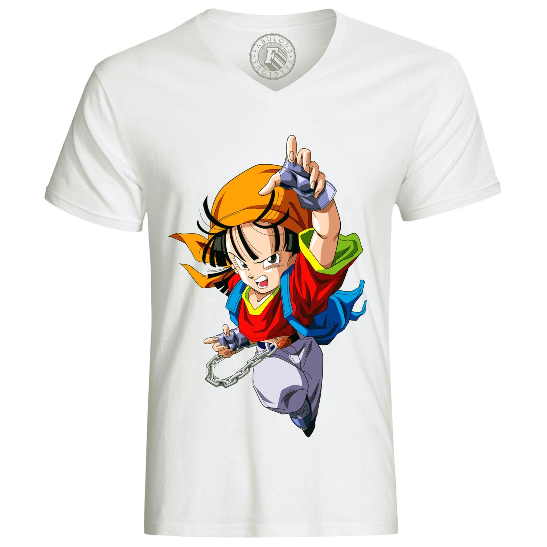 T-shirt Dragon Ball GT Pan Anime Manga