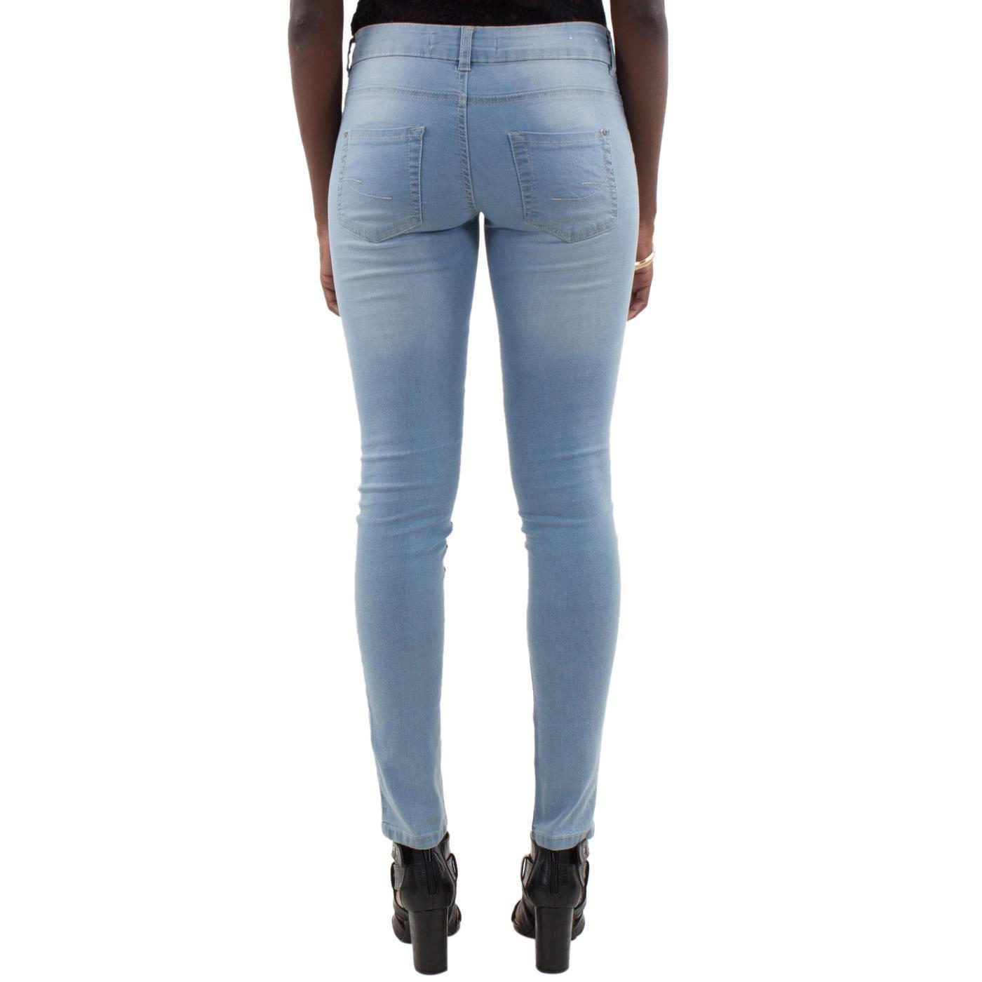 mim women 39 s casual jeans super skinny international new look ebay. Black Bedroom Furniture Sets. Home Design Ideas