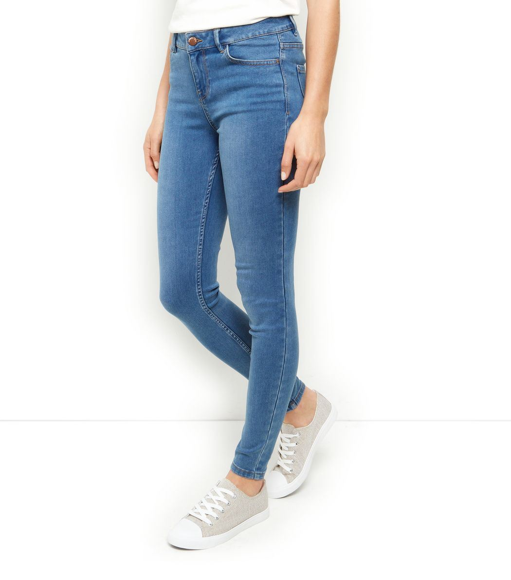 new look women 39 s casual blue jeans ebay. Black Bedroom Furniture Sets. Home Design Ideas