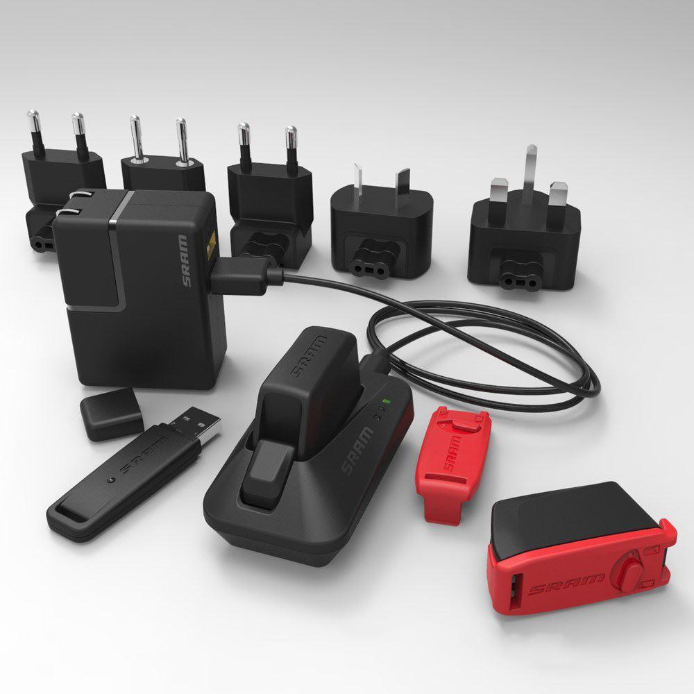 SRAM eTAP World Adapters (includes adapters for Australia/Brazil/Korea)