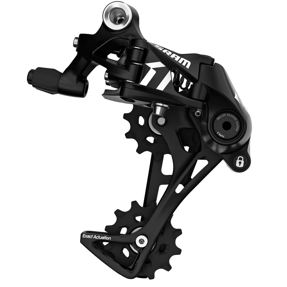 SRAM Apex1 Rear Derailleur Black Long Cage 11-Speed