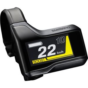 Shimano STEPS SC-E8000 STEPS Cycle Computer Display black