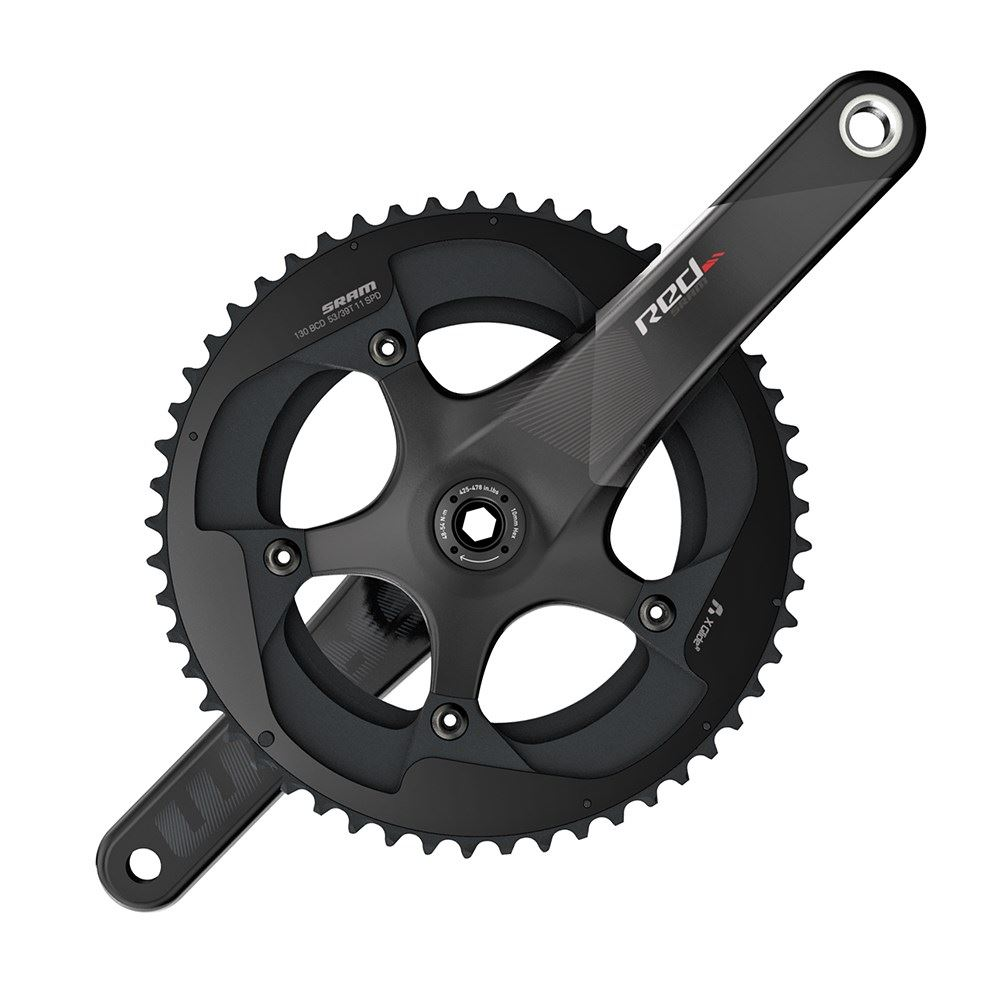 SRAM  SRAM Crank Set Red BB30 53-39 Yaw, Bearings NOT Included C2