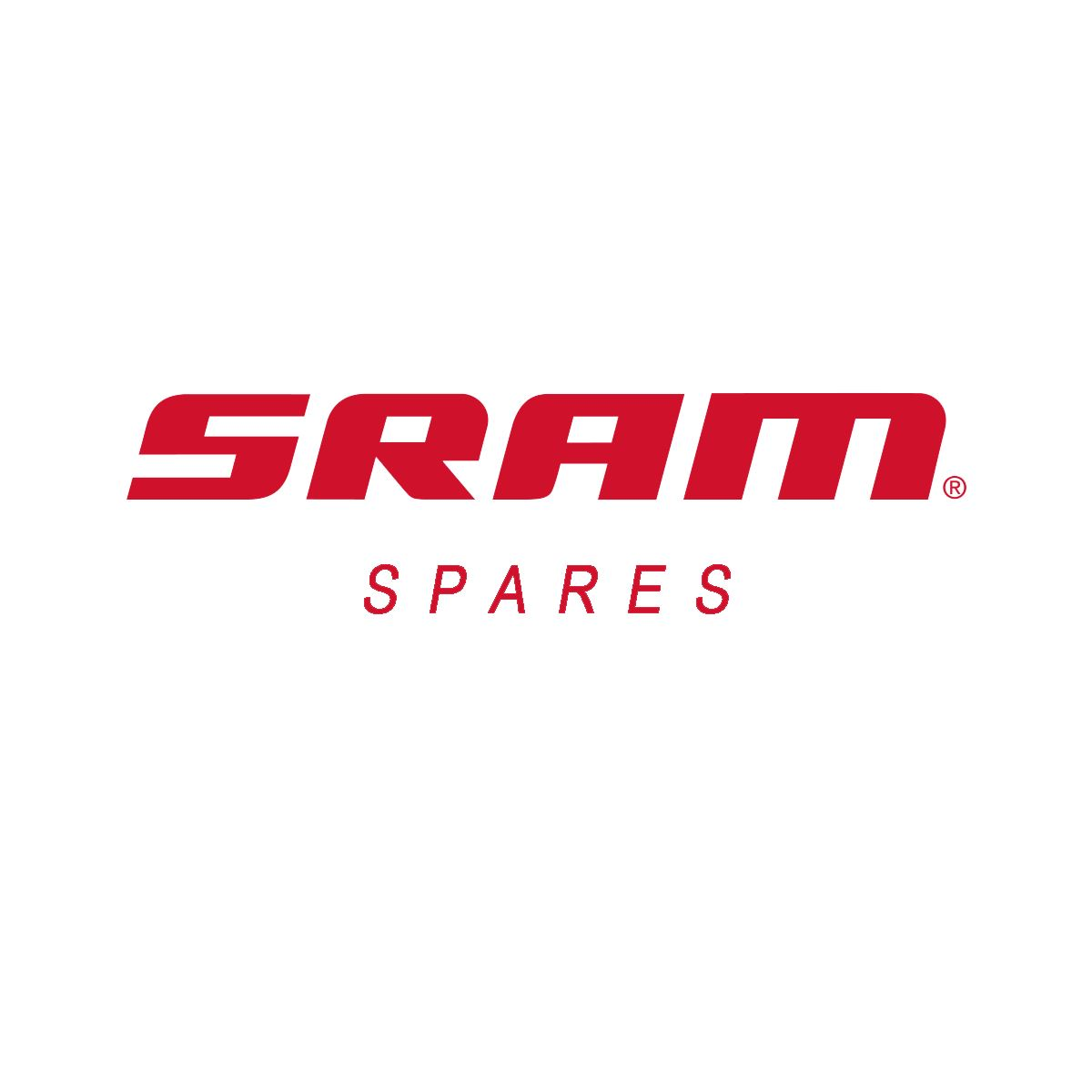"SRAM Spokes & Nipples Rail 50 29"" CX Sprint Straight-Pull Black 300mm (3pcs)"