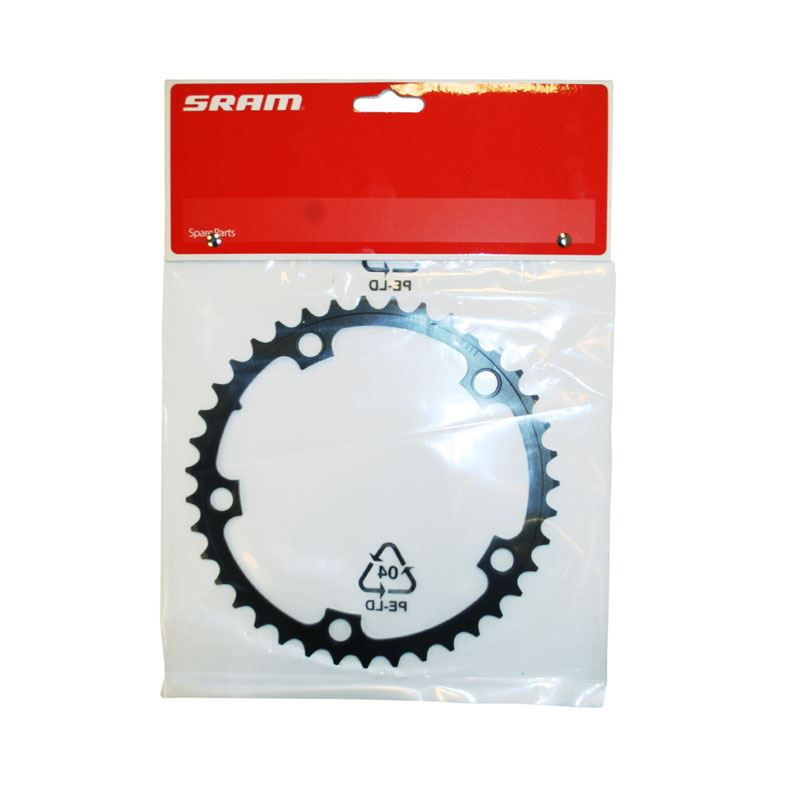 SRAM  SRAM Chainring Road 39t 5 Bolt 130mm BCD