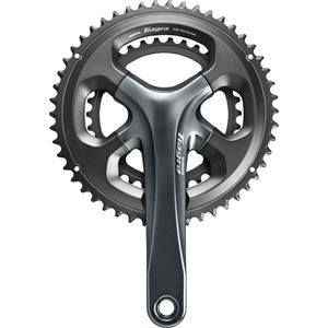 Shimano  Shimano Tiagra FC-4700 Tiagra double chainset 10-speed, 52/36, 175 mm