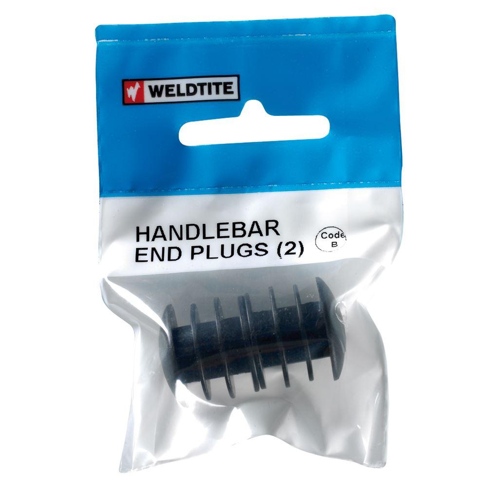 Weldtite Handlebar Head Plugs (2)