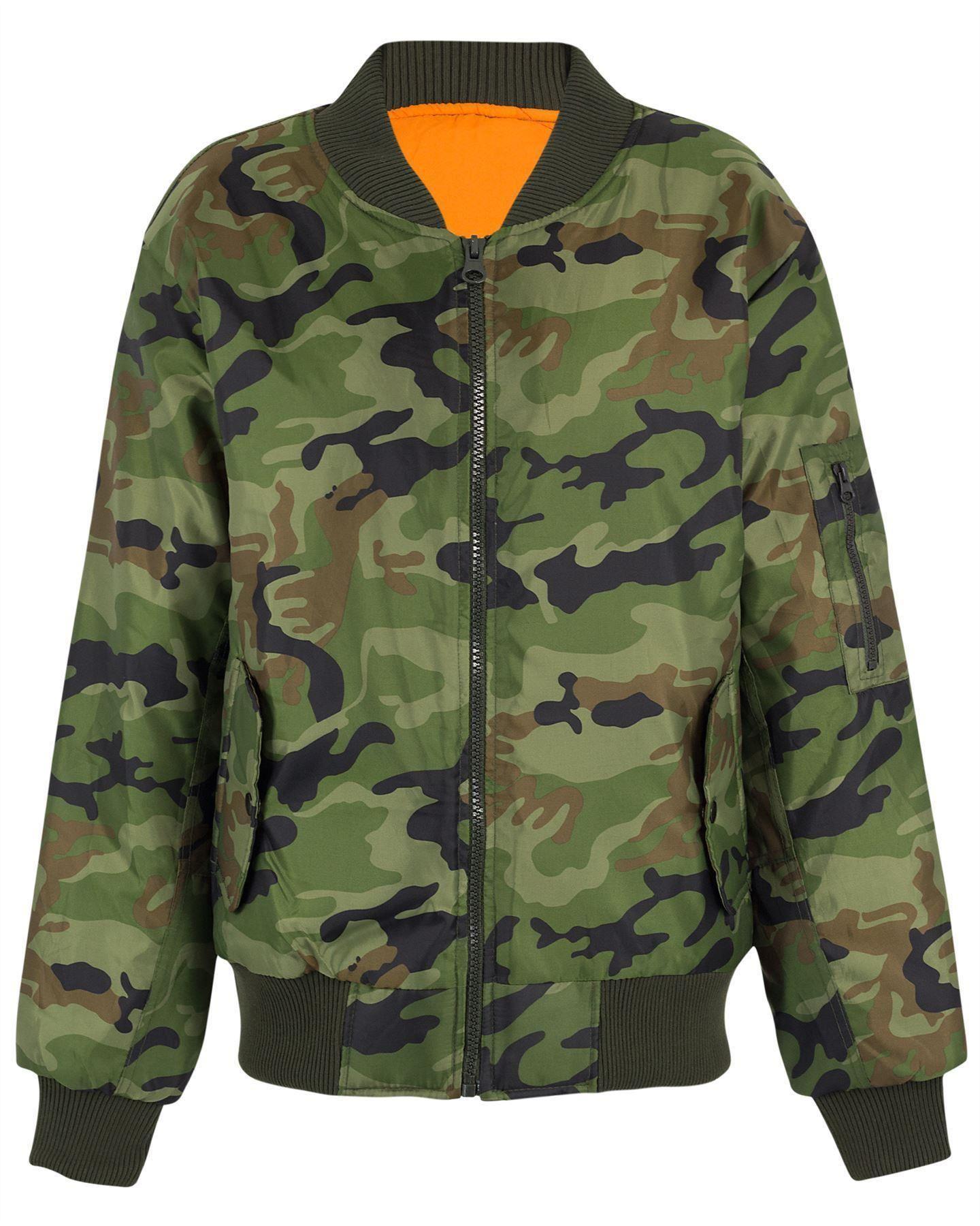 Купить Куртку Бомбер Милитари